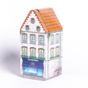 Leonidas metalen huis klein