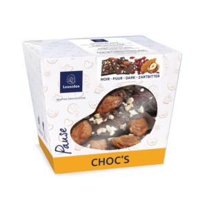 Choc's – Pure chocolade met een fruitige topping van veenbessen